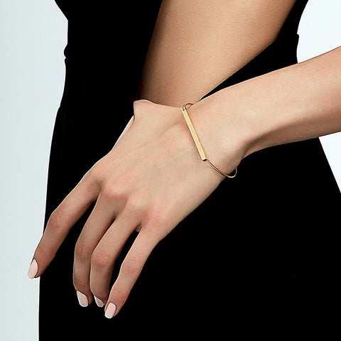 CARRIE SLIM BAR BRACELET