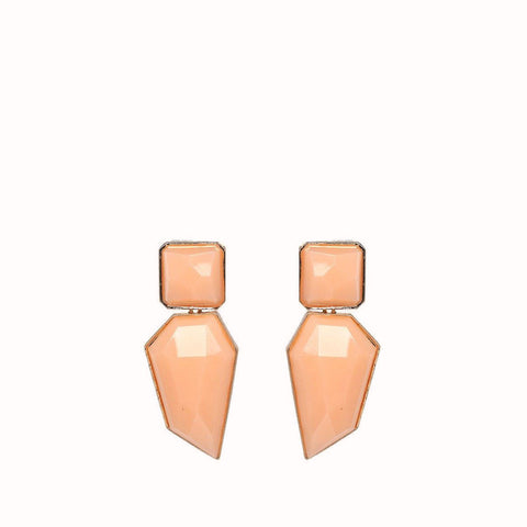 MADISON GEOMETRIC RESIN EARRINGS