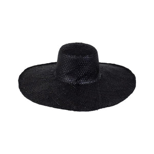 Santorini beach hat - Black