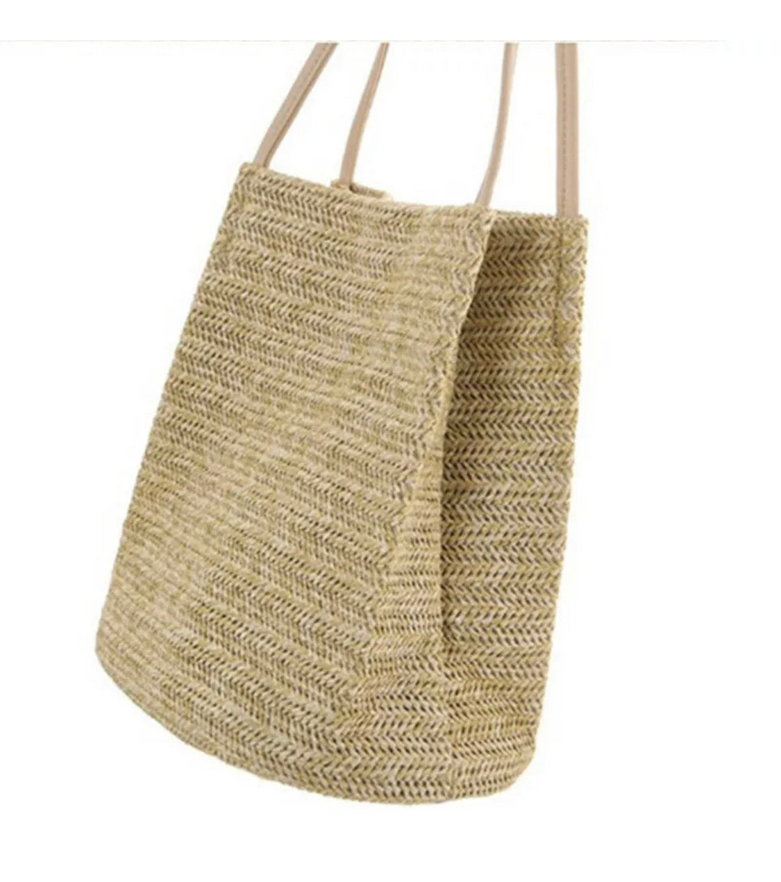 Straw bag SAMPLE - ONE ONLY