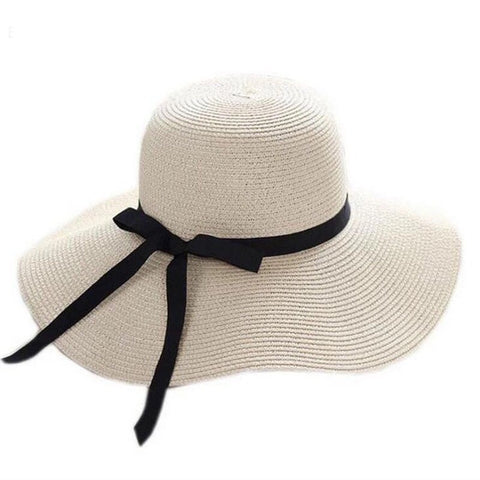 Boho Large Floppy Straw Hat - MyBoholy