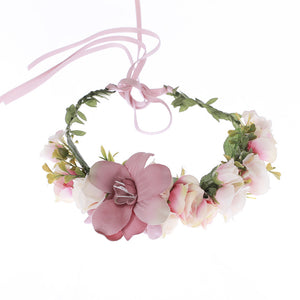 Handmade Flower Hair Wreath - MyBoholy