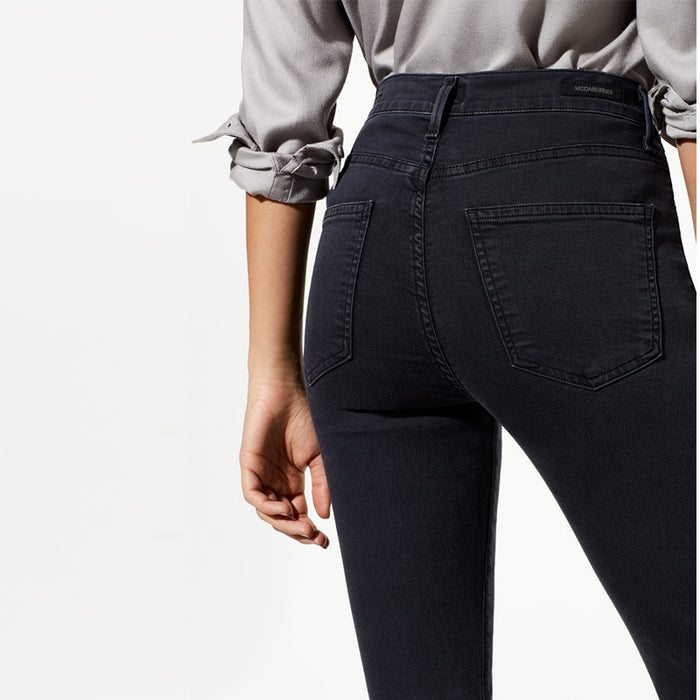 Black Wash High Waist Skinny Jeans - MyBoholy