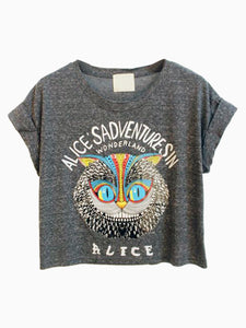 Alice Adventures in Wonderland Short Tee - MyBoholy