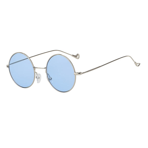 Hippie Round Flash Mirror Lens Sunglasses - MyBoholy