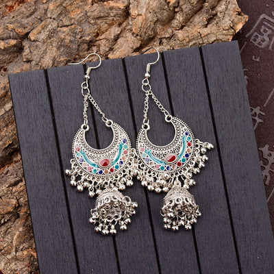 Antique Bell Drop Earrings - MyBoholy
