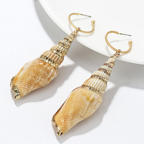 MyBoholy Shell Drop Earrings - MyBoholy