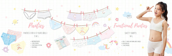 Junior Panties - Young Hearts Lingerie Malaysia