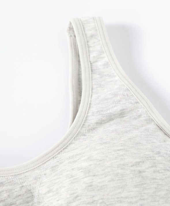 Melange Lil Seamless Racer Back Vest - Young Hearts Lingerie Malaysia