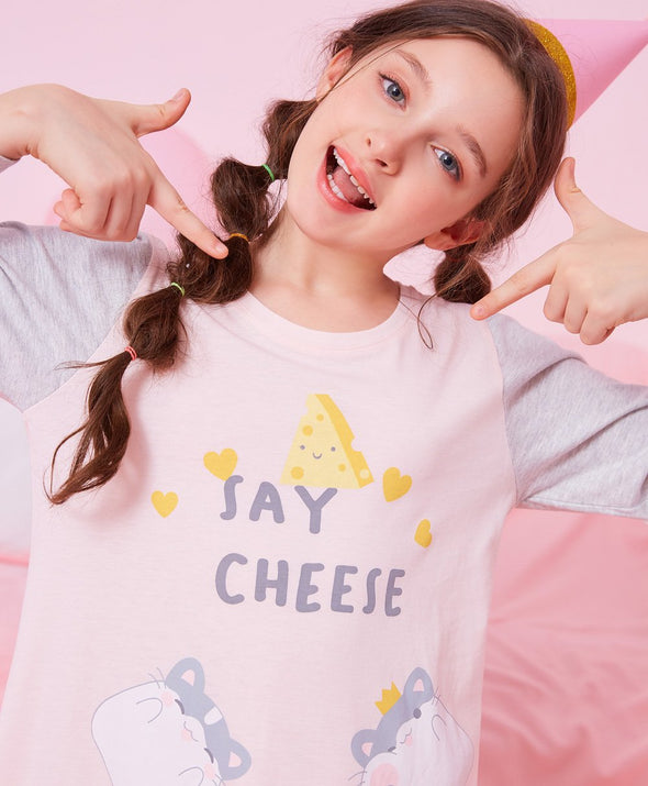 Say Cheese Sleep Dress - Young Hearts Lingerie Malaysia