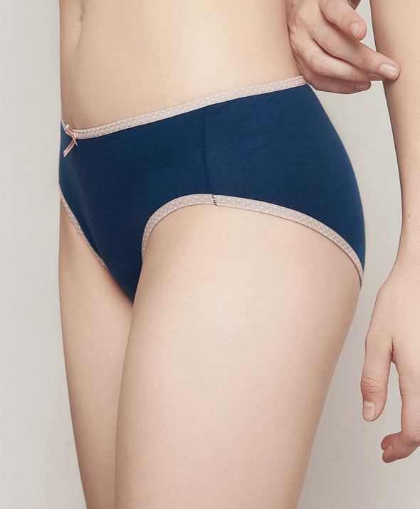 Young Hearts Melange Sanitary Panties Y16-000486 - Young Hearts Lingerie Malaysia