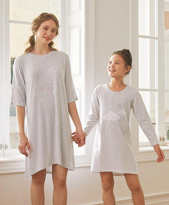 Quiet Sky Sleep Dresses - Young Hearts Lingerie Malaysia