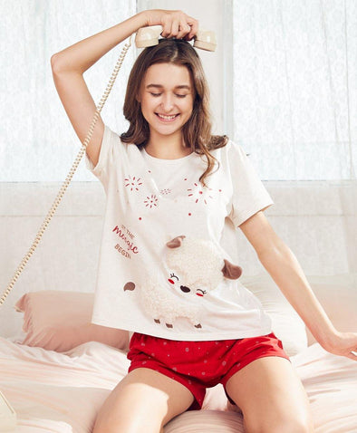 Let the Moogic Begin Sleep Set - Young Hearts Lingerie Malaysia
