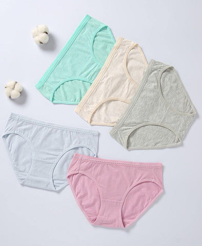 Comfy Morandi Cotton 5-pack Mini Panties