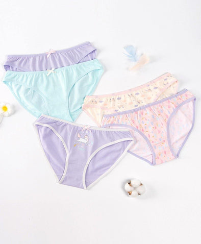 You Are Magical Graphic 5-pack Panties - Young Hearts Lingerie Malaysia