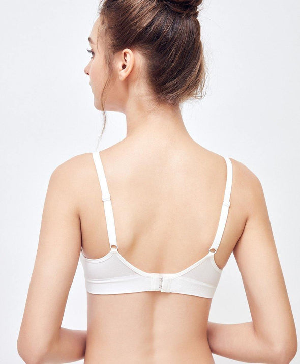 Basic Triangle Seamless Bra - Young Hearts Lingerie Malaysia