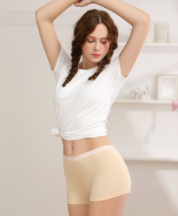Cotton Safety Panties - Young Hearts Lingerie Malaysia