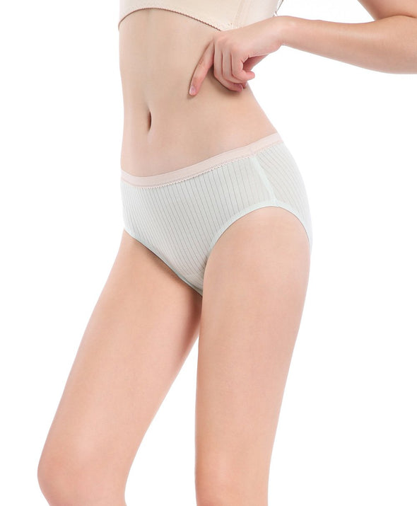 Soft Viscose Laminated Seamless Hipster Panties - Young Hearts Lingerie Malaysia