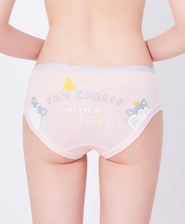 Say Cheese Fun Prints Hipster Panties - Young Hearts Lingerie Malaysia