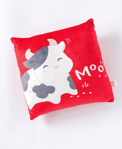 Fortune Cow Cushion