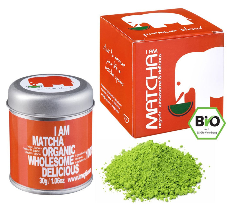 Laden Sie das Bild in den Galerie-Viewer, imogti Premium Blend Matcha