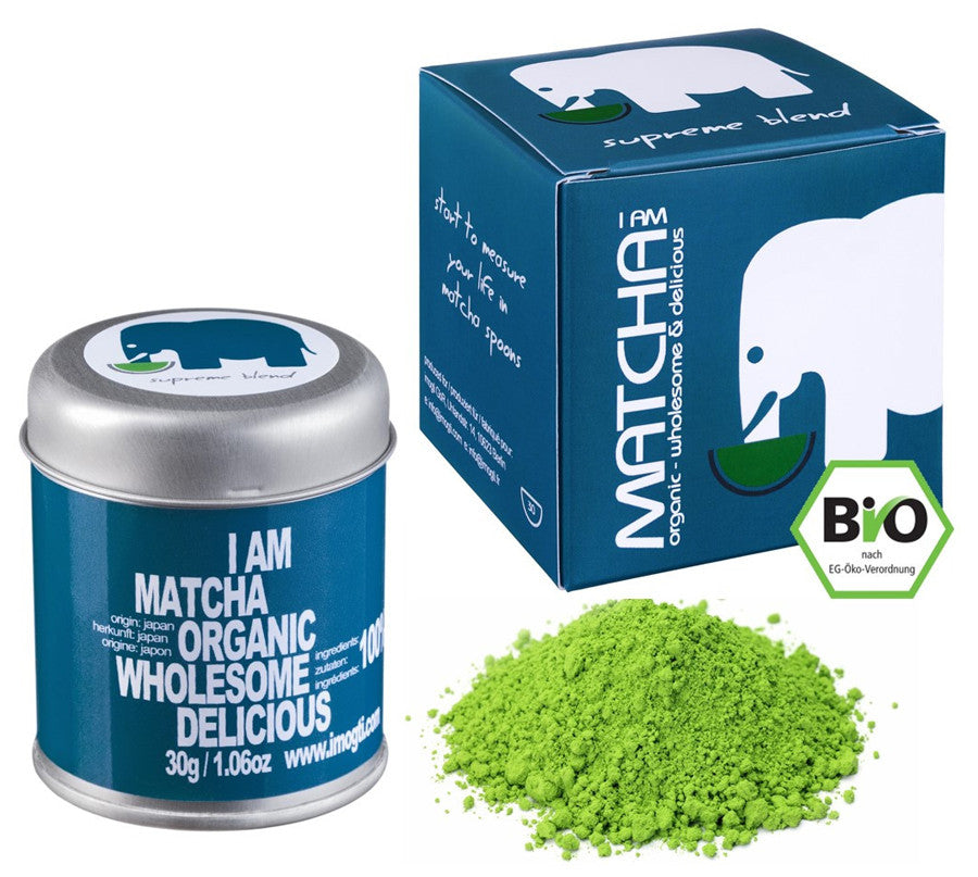 Laden Sie das Bild in den Galerie-Viewer, imogti Supreme Blend Matcha