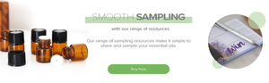 Smooth Sampling with Essential Oils