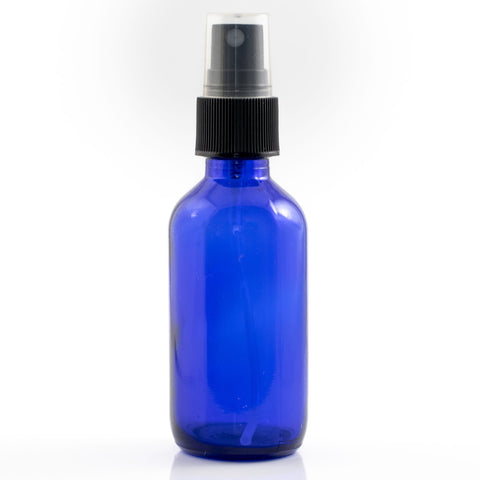 120ml Blue Glass Spray Bottle for Essential Oils and Homemade Cleaning Sprays NZ