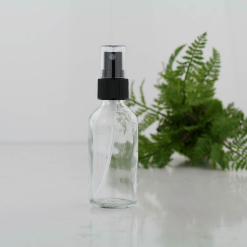 60ml Clear glass spray bottle