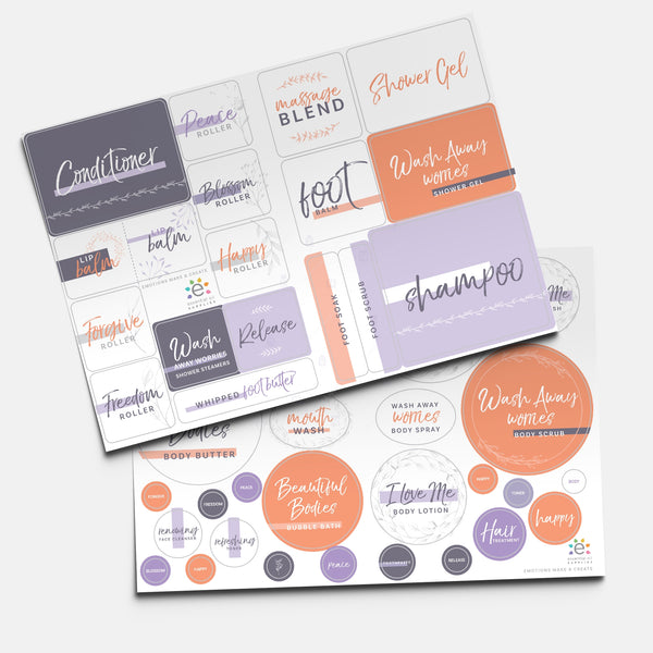 Essentially Balanced Emotions Make & Create Recipe Book and Labels with Trish Nash