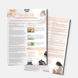 EK Series: Essential Oils from Bump to Birth and Beyond Info Sheet