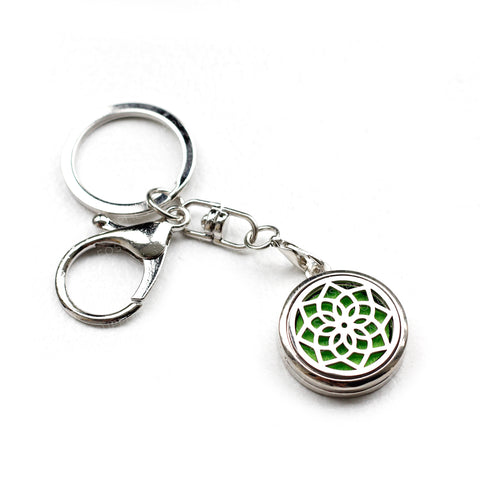 Keychain Diffuser - Lotus for Essential Oils EOS NZ