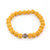 Lava Rock Diffuser Bracelet - Mustard for Essential Oils EOS NZ