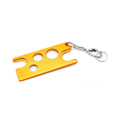 Metal Essential Oil Key Orange