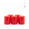 Red Plastic Lids (10 pack) EOS NZ