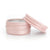 10ml Rose Gold Aluminium Round Tin EOS NZ