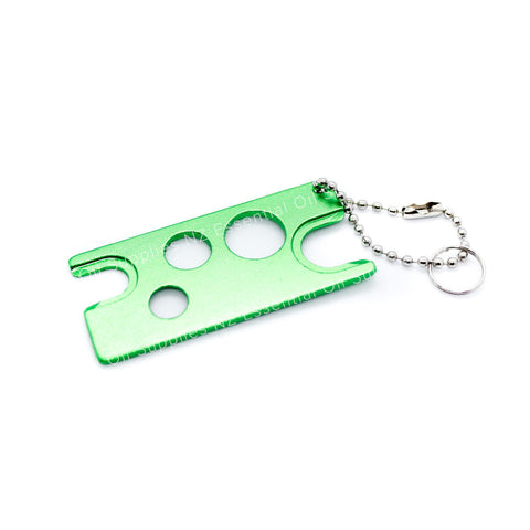 Metal Essential Oil Key Green