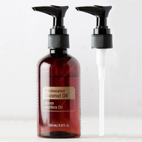 Pump Top for Fractionated Coconut Oil Bottle (Single)