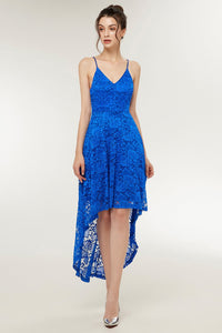 Straps Royal Blue Lace