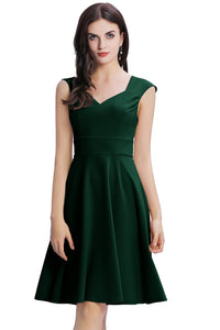 Dark Green Solid Homecoming
