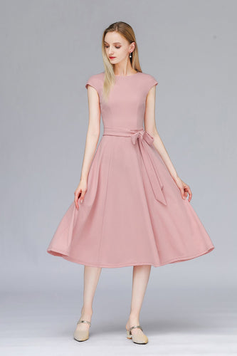 Blush 1950s Retro Dress