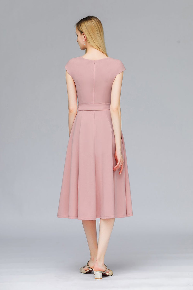 Load image into Gallery viewer, Blush 1950s Retro Dress