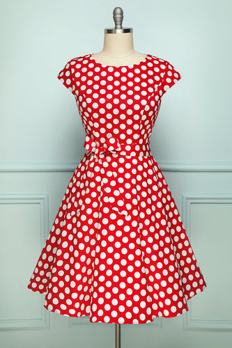 White Polka Dots Dress