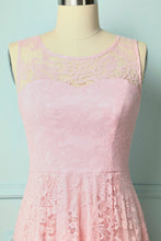 Load image into Gallery viewer, Asymmetrical Pink Lace