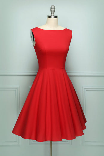 Sleeveless Vintage Dress