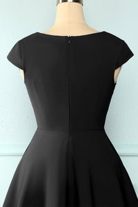 Black Solid Dress