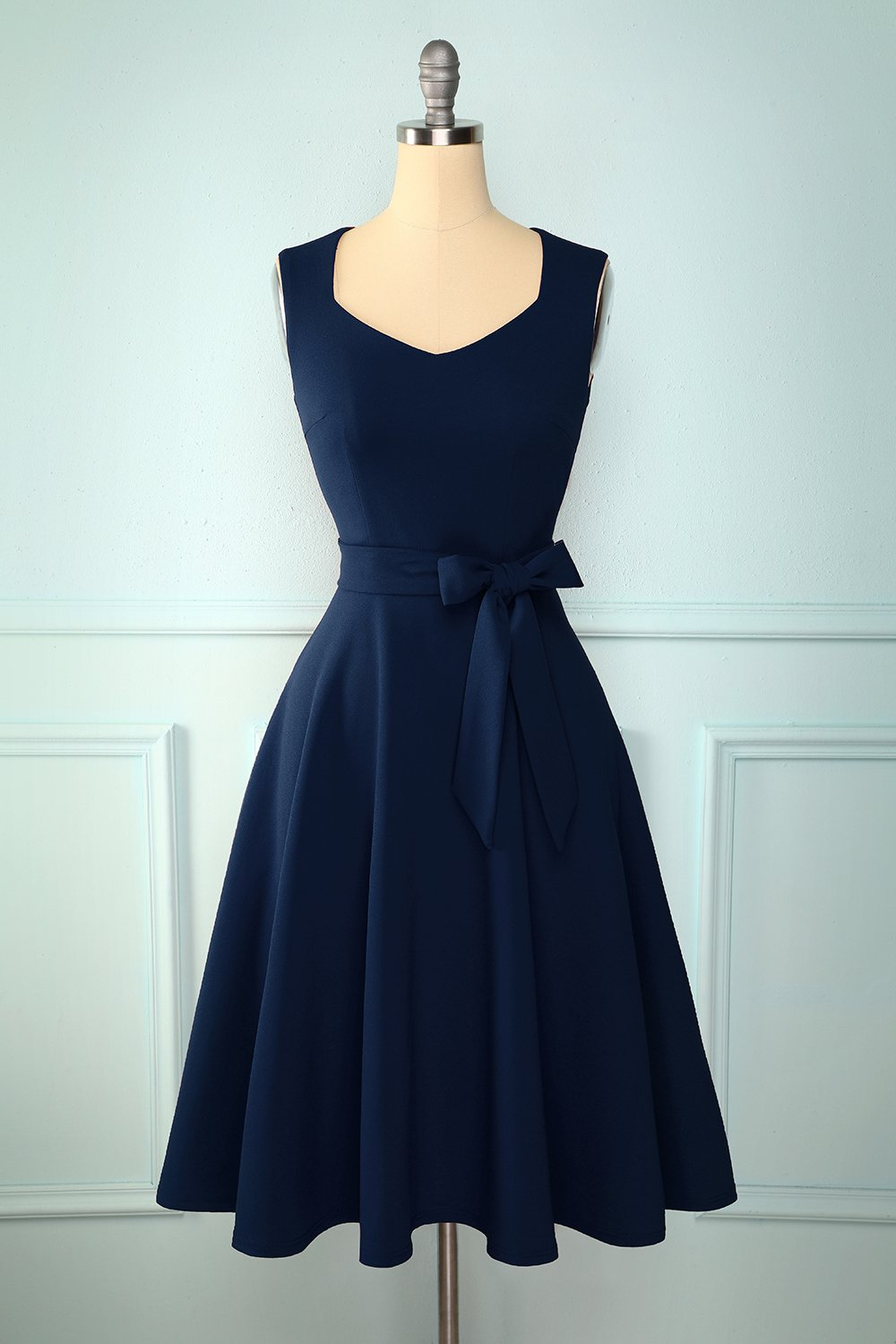 Soft Navy Dress