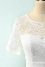 Load image into Gallery viewer, Vintage White Lace Dress
