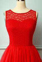 Load image into Gallery viewer, Red Lace Homecoming