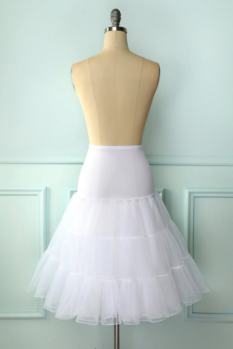 Load image into Gallery viewer, White Tutu Petticoat